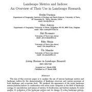 متریکها و شاخصهای چشم انداز: مروری بر کاربرد آنها در تحقیقات چشم انداز