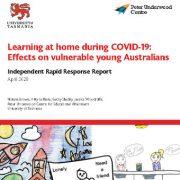 یادگیری و آموزش در خانه طی شیوع کوید۱۹: اثرات بر کودکان آسیب پذیر