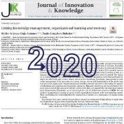 ارتباط بین مدیریت دانش، یادگیری سازمانی و حافظه