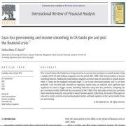ارایه و عرضه ی وام و حفظ درآمد در  بانک های ایالات متحده ی آمریکا