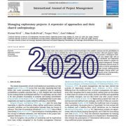 مدیریت پروژههای اکتشافی: مجموعهی رویکردها و اصول مشترک