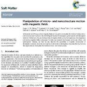مانیپولاسیون و اصلاح حرکت  نانوساختار ها و ریزساختار ها