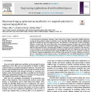 بهینه سازی جست و جوی غذای سفره ماهی: یک بهینه ساز مؤثر الهام گرفته از زیست شناسی