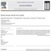 ساختار بازار و هزینه و ارزش سرمایه