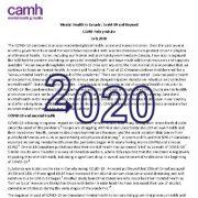 سلامت روان در کانادا: کوید-۱۹(COVID-19) و فراتر از آن