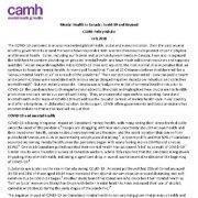 "<span itemprop=""name"">سلامت روان در کانادا: کوید-۱۹(COVID-19) و فراتر از آن</span>"