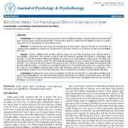 ذهن مهم است: اثر روانی آسیب مچ پا در ورزشها