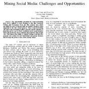 کاوش در رسانههای اجتماعی: چالشها و فرصتها