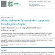 کاوش و استخراج پروکاریوت ها برای تولید مواد آنتی میکروبی: از تنوع تا عملکرد