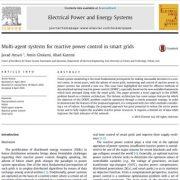 سیستم های چند عاملی برای کنترل توان راکتیو در شبکه های هوشمند