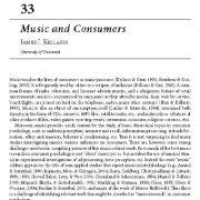 موسیقی و مصرف کنندگان