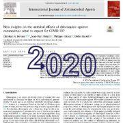 بینش ها و دیدگاه های جدید در مورد اثرات ضد ویروسی کلروکین
