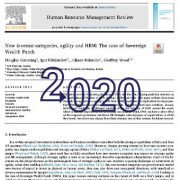 مقولههای سرمایه گذار جدید، چابکی و مدیریت منابع انسانی
