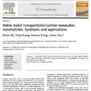 نانوهیبرید های نانولولههای کربن/نانوذرات فلزات نجیب: سنتز و کاربرد