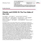 "<span itemprop=""name"">چاقی و کروناویروس(COVID-19): دو روی یک سکه</span>"