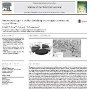 نمونه گیری غیر فعال ابزاری برای شناسایی ترکیبات میکروارگانیک در آب زیر زمینی