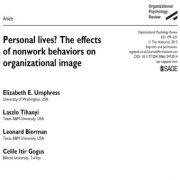 امورات شخصی زندگی؟ تأثیر رفتارهای غیرکاری و غیر شغلی بر تصویر سازمانی