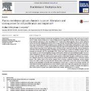 مطالعهی نقش کانالهای کلسیم غشای پلاسمایی در بروز سرطان