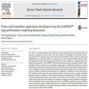 برنامه های شبیه سازی شبکه برق توسعه یافته از طریق  چارچوب رایانش  عملکرد بالای GridPACKTM