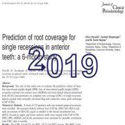 پیش بینی پوشش ریشهای برای عقب نشینی (پسروی) دندانهای قدامی