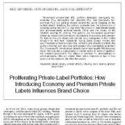 تکثیر و انتشار پرتفوی  برچسب خصوصی