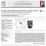 بهبود اثر دوپینگ فلزات قلیایی بر روی فعالیت کاتالیستی تبدیل هیدروکربن