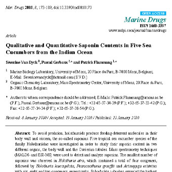 بررسی ترکیبات کمی و کیفی مادهی ساپونین در پنج گونهی جنسینگ