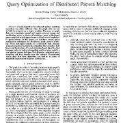 بهینه سازی پرس و جو با تطبیق الگوی توزیعی