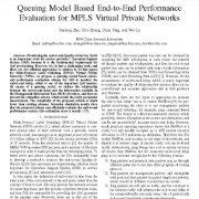 ارزیابی عملکرد انتها به انتهای مبتنی بر مدل صف بندی برای شبکه های خصوصی