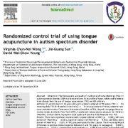 کارازمایی کنترل تصادفی استفاده از طب سوزنی در اختلال طیف اوتیسم