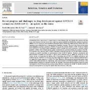 پیشرفت و چالش های اخیر در زمینه تولید دارو علیه کرونا ویروس COVID-19  SARS-CoV-2
