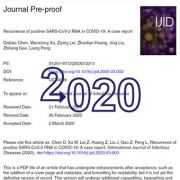 عود و بازگشت  SARS-CoV-2 RNA مثبت در COVID-19: یک گزارش  موردی