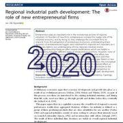 توسعه مسیر صنعتی منطقهای: نقش بنگاههای جدید کارآفرینی