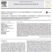 تشکیل تنش باقیمانده در جوشکاری چند پاسه: یک مطالعه عددی و آزمایشی