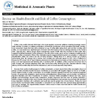 مروری بر فواید سلامتی و خطر مصرف قهوه