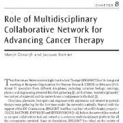 نقش شبکه مشارکت چند رشتهای برای پیشرفت درمان سرطان