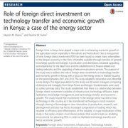 نقش سرمایه گذاری مستقیم خارجی در انتقال فناوری و رشد اقتصادی