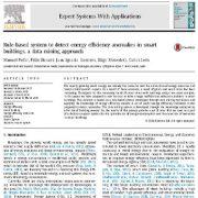 سیستم بر پایه قوانین برای شناسایی ناهنجاری کارایی انرژی