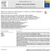 تحلیل  فیلوژنتیک ومولکولی SARS-COV-2 در بیماران کوید-۱۹:  گزارش مقدماتی از ایران