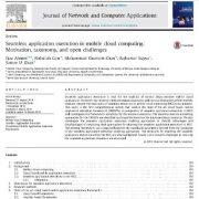 اجرای برنامه یکپارچه در رایانش ابری سیار