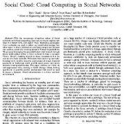ابر اجتماعی: رایانش ابری در شبکههای اجتماعی