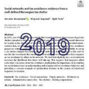شبکههای اجتماعی و اجتناب از پرداخت مالیات (فرار مالیاتی)