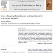 منابع قدرت و شرایط زیرساختاری در حسابداری دولتی قرون وسطایی