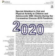 توجه ویژه به رژیم غذایی و فعالیت بدنی و تحرک در کودکان و نوجوانان چاق