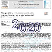 چابکی استراتژیک و مدیریت منابع انسانی