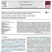 معیار های پیش بینی واکنش درمانی به   درمان رفتاری شناختی گروهی