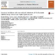 ارزیابی ساختاری و دقت بین فرهنگی پرسشنامه پروژه درمان و پیشگیری