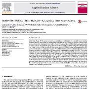 مطالعه کاتالیزورهای سه راهی  (M = Y, La)/Al2O3