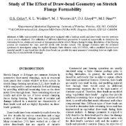 بررسی  اثر  شکل هندسی آویزه  بر روی  انعطاف پذیری و شکل پذیری  بال کششی