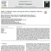 مطالعه ترکیب غربالگری مجازی و درمان های ضد ویروسی Sars- T CoV-2 (Covid-19)